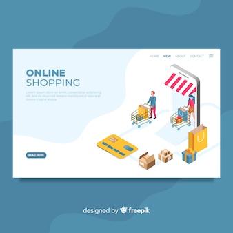 Landing page de tienda online