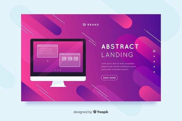 Landing pages para dispositivos tecnológicos