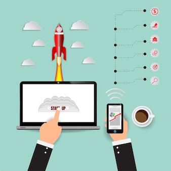 Lanzamiento de vector rocket startup