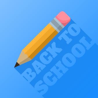 Lápiz de regreso a la escuela