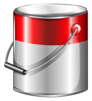 Una lata de pintura