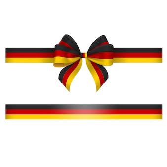 Lazo y cinta tricolor alemán