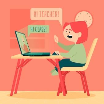 Lecciones en línea para niños