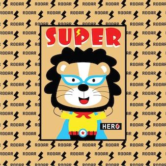 León el superhéroe