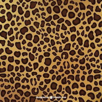Leopardo patrón de impresión