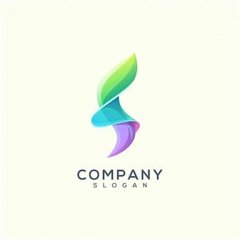 Letra f logo