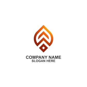 Letra inicial k escudo logotipo premium