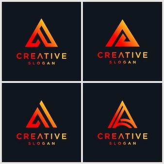 Letra un logotipo de bundel