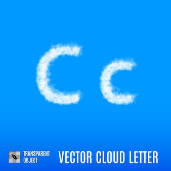 Letra de nube