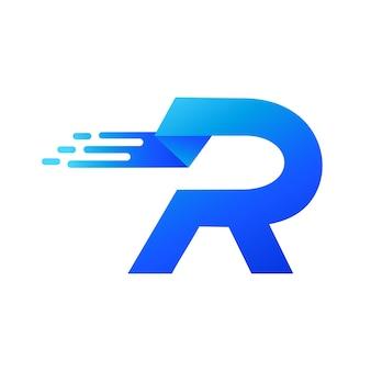 Letra r logo