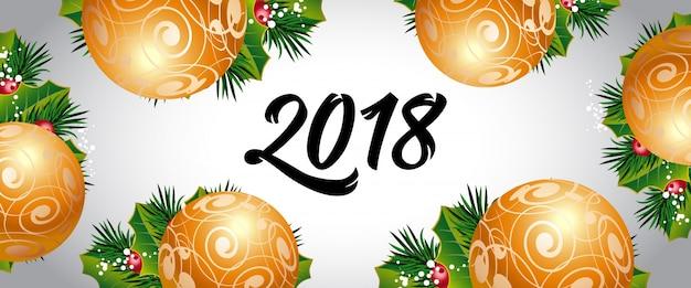 Letras de 2018 con hermosas piedras