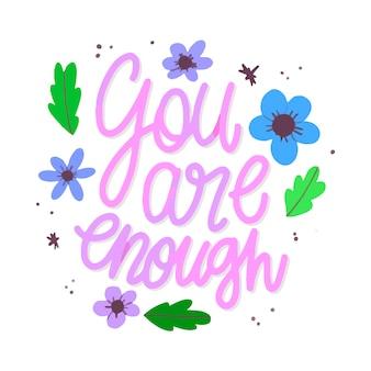 Letras de amor propio de flores