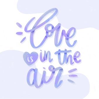 Letras de boda de amor en el aire