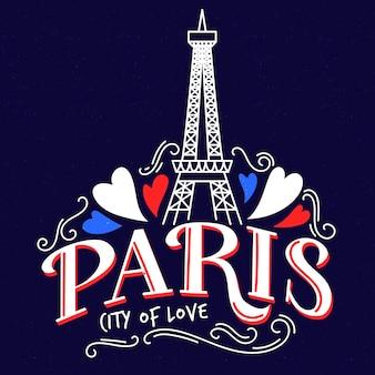 Letras de la ciudad de parís