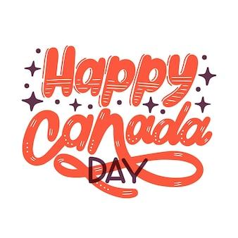Letras del día de canadá