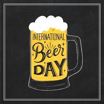 Letras del día internacional de la cerveza