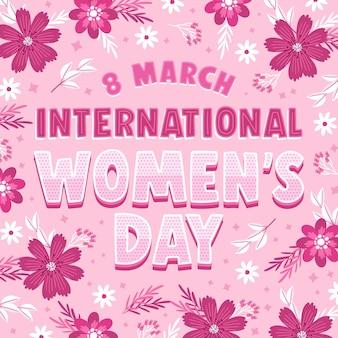 Letras del día internacional de la mujer