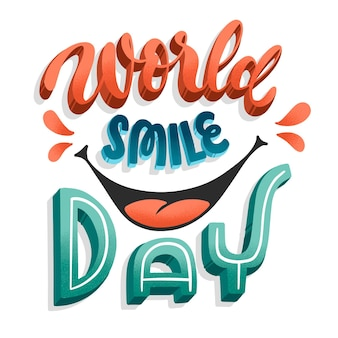 Letras del día mundial de la sonrisa