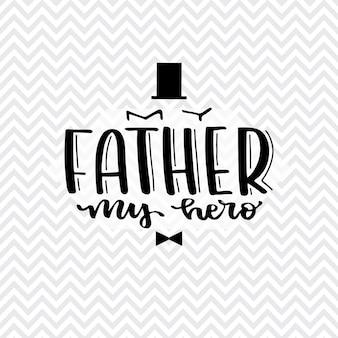 Letras del día nacional de los padres. caballeros