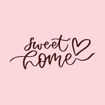 Letras de dulce hogar