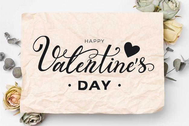 Letras de feliz dia de san valentin