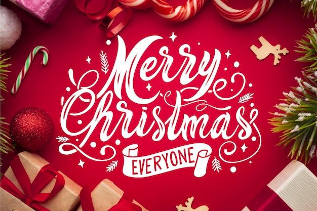 Letras de feliz navidad