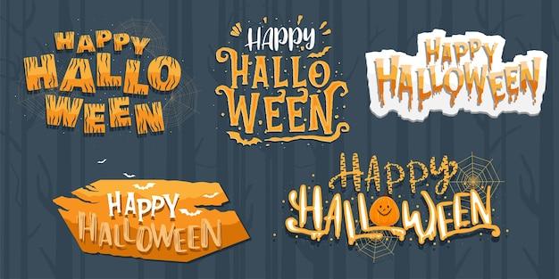 Letras de halloween