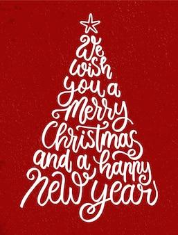 Letras de navidad vintage