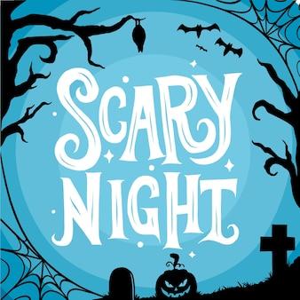 Letras de noche de miedo