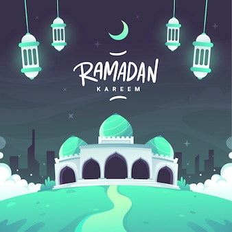Letras de ramadán kareem planas