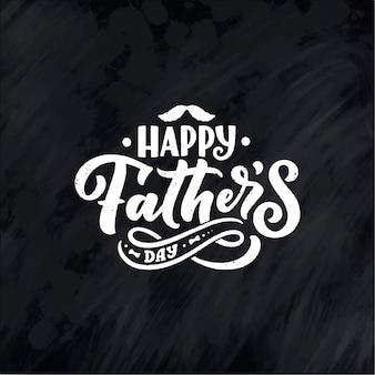 Letras para la tarjeta de felicitación del día del padre