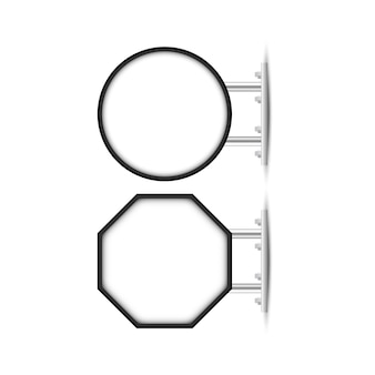 Letrero para marca de tienda, letrero de techo