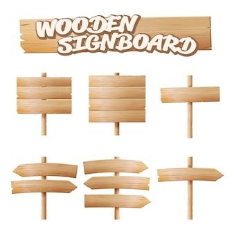 Letreros de madera