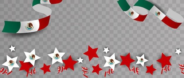 Leyenda del día de la independencia de méxico 16 de septiembre ilustración vectorial