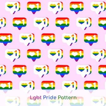 Lgbt pride pattern