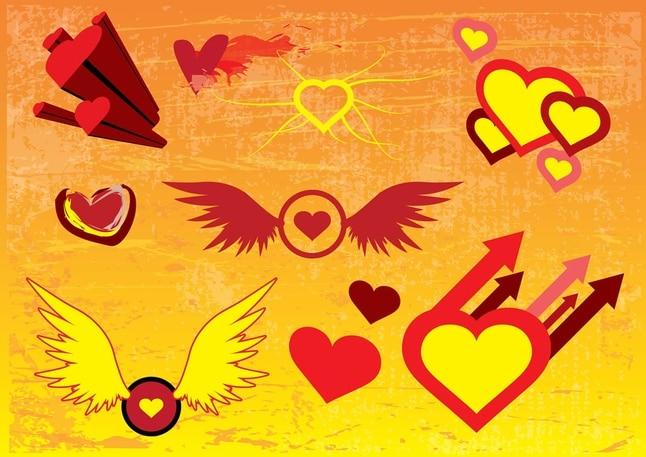Libre de las imágenes vectoriales corazón