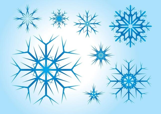 Snowflake Material | Fotos y Vectores gratis