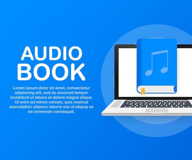 Libro de audio de concepto para página web, banner, redes sociales.