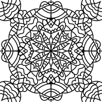 Libro de colorear antiestrés, meditación