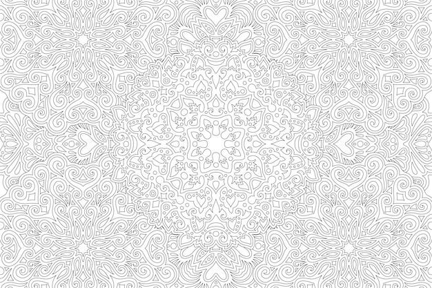 Libro para colorear de arabescos florales
