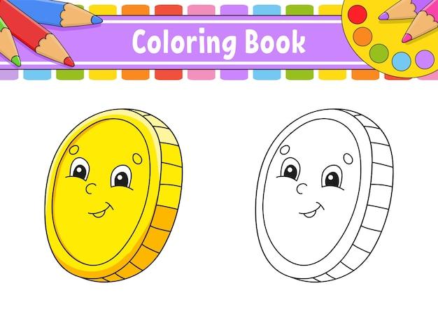 Libro de colorear para niños. día de san patricio.