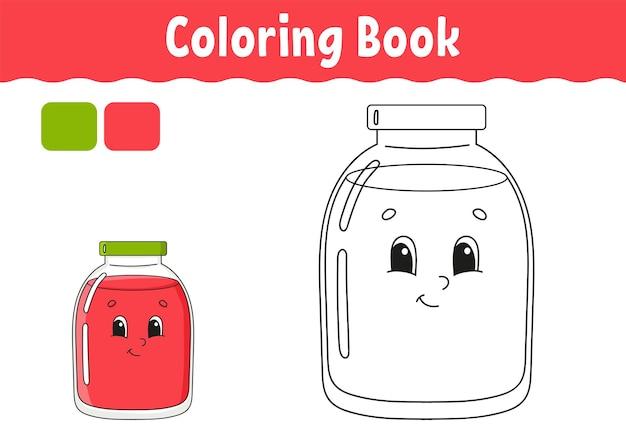 Libro de colorear para niños.