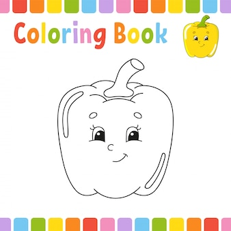 Libro para colorear para niños.