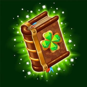 Libro de hechizos mágicos, brujería.