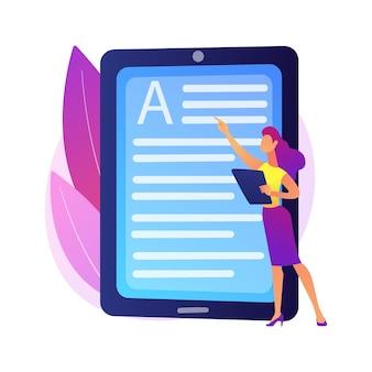 Libro de lectura online. biblioteca digital, lectura electrónica, archivo de libros electrónicos. librería de internet. ereader móvil. edición de documentos y textos. escritura creativa.