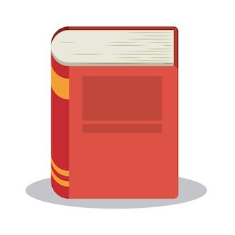 Libro leído biblioteca literatura aprendizaje icono de conocimiento