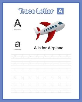 Libro de práctica de escritura a mano letra minúscula az