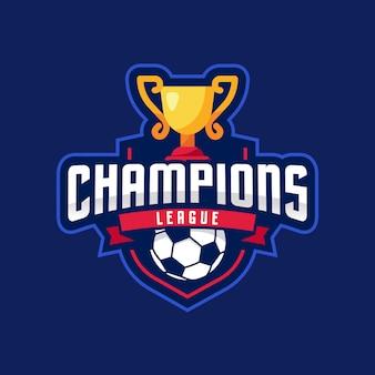 Liga de campeones american logo sport