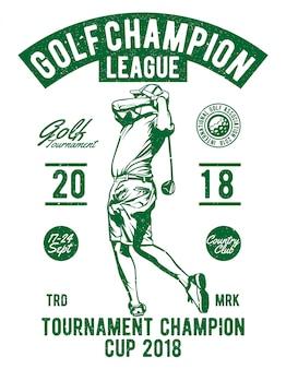 Liga de campeones de golf
