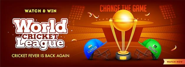 Liga mundial de cricket entre india y pakistán